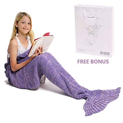 The Perfect Christmas Gift: Mermaid Tail Blanket